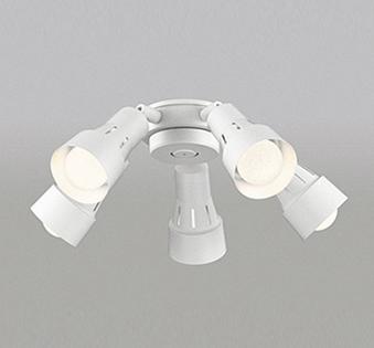 【最安値挑戦中!最大25倍】オーデリック WF278PC(ランプ別梱包) シーリングファン 灯具(可動型スポットタイプ・5灯) LED電球一般形 光色切替 ~6畳