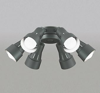 【最安値挑戦中!最大25倍】オーデリック WF279NC(ランプ別梱包) シーリングファン 灯具(可動型スポットタイプ・6灯) LED電球一般形 昼白色 ~8畳