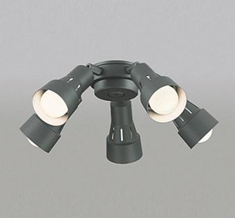 【最安値挑戦中!最大24倍】オーデリック WF280LC(ランプ別梱包) シーリングファン 灯具(可動型スポットタイプ・5灯) LED電球一般形 電球色 ~6畳 [∀(^^)]