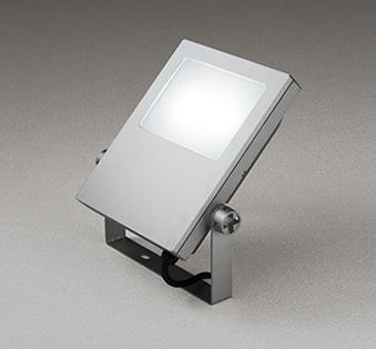 【最安値挑戦中!最大24倍】オーデリック XG454017 エクステリアスポットライト LED一体型 昼白色 水銀灯400Wクラス マットシルバー 防雨型 [(^^)]