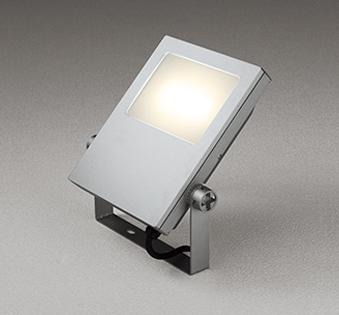 【最安値挑戦中!最大25倍】オーデリック XG454018 エクステリアスポットライト LED一体型 電球色 水銀灯400Wクラス マットシルバー 防雨型
