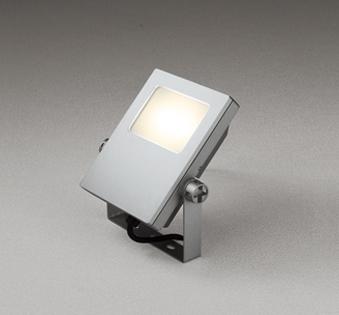 【最安値挑戦中!最大25倍】オーデリック XG454020 エクステリアスポットライト LED一体型 電球色 水銀灯200Wクラス マットシルバー 防雨型