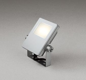 【最安値挑戦中!最大24倍】オーデリック XG454022 エクステリアスポットライト LED一体型 電球色 水銀灯100Wクラス マットシルバー 防雨型 [(^^)]