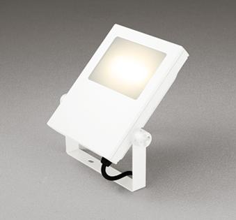 【最安値挑戦中!最大25倍】オーデリック XG454026 エクステリアスポットライト LED一体型 電球色 水銀灯400Wクラス オフホワイト 防雨型