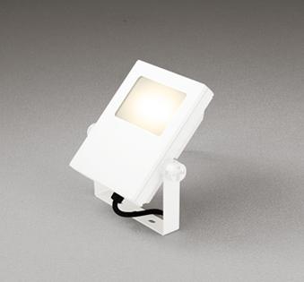 【最安値挑戦中!最大25倍】オーデリック XG454028 エクステリアスポットライト LED一体型 電球色 水銀灯200Wクラス オフホワイト 防雨型