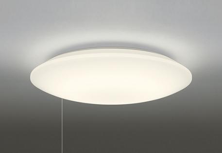 【最安値挑戦中!最大25倍】オーデリック OL251602L1 LEDシーリングライト LED一体型 連続調光 電球色 リモコン別売 ~8畳 横出しスイッチ付