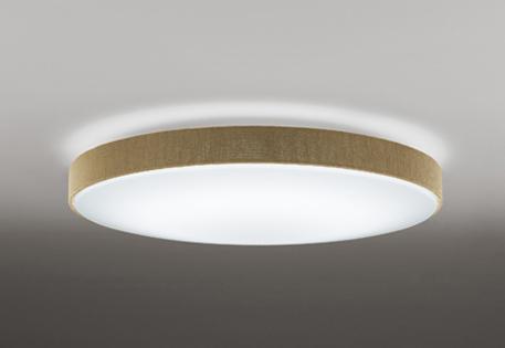 【最安値挑戦中!最大25倍】オーデリック OL251673P1 LEDシーリングライト LED一体型 連続調光調色 電球色~昼光色 リモコン付属 ~10畳 ベージュ