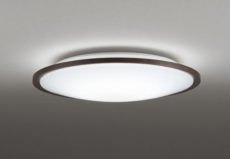 【最安値挑戦中!最大34倍】オーデリック OL291318BC LEDシーリングライト LED一体型 Bluetooth 連続調光調色 電球色~昼光色 リモコン別売 ~10畳 ブラウン [(^^)]