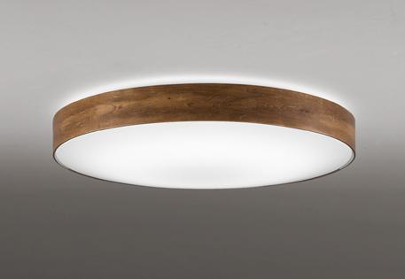 【最安値挑戦中!最大24倍】オーデリック OL291357 シーリングライト LED一体型 調光・調色 リモコン付属 ~8畳 ウォールナット色古味 [(^^)]