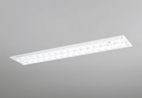 【最安値挑戦中!最大25倍】照明器具 オーデリック XD266092C(ランプ別梱) ベースライト 直管形LEDランプ 埋込型 下面開放型(ルーバー) 2灯用 白色