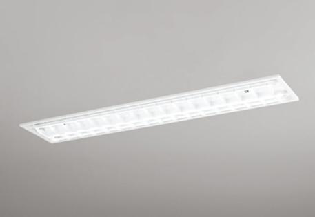 【最安値挑戦中!最大25倍】照明器具 オーデリック XD266092P2D(ランプ別梱) ベースライト 直管形LEDランプ 埋込型 下面開放型(ルーバー) 2灯用 温白色