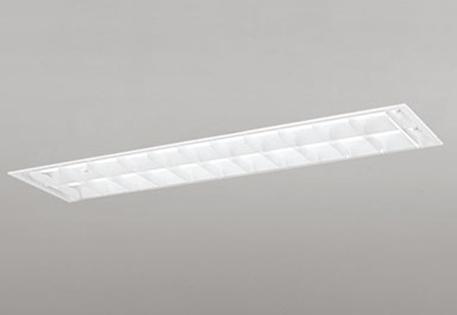 【最安値挑戦中!最大25倍】照明器具 オーデリック XD266103D(ランプ別梱) ベースライト 直管形LEDランプ 埋込型 下面開放型(ルーバー・幅広) 2灯用 温白色