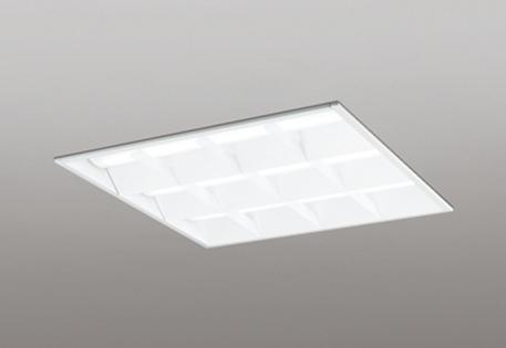 【最安値挑戦中!最大25倍】オーデリック XD466014P4D(LED光源ユニット別梱) ベースライト LEDユニット型 埋込型 非調光 温白色 ルーバー付