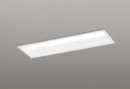 【最安値挑戦中!最大25倍】オーデリック XD504001P3A(LEDユニット別梱) ベースライト 下面開放型(幅220) 昼光色 非調光 Hf16W高出力相当