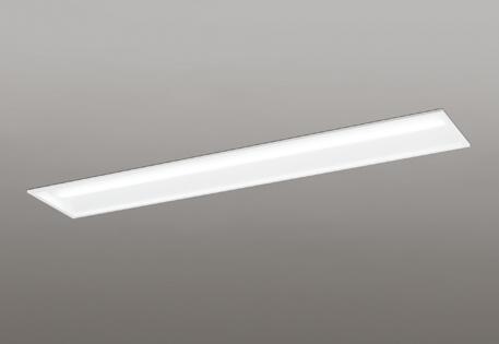 【最大44倍お買い物マラソン】オーデリック XD504002P2D(LED光源ユニット別梱) ベースライト LEDユニット型 埋込型 40形 非調光 4000lmタイプ 温白色 白