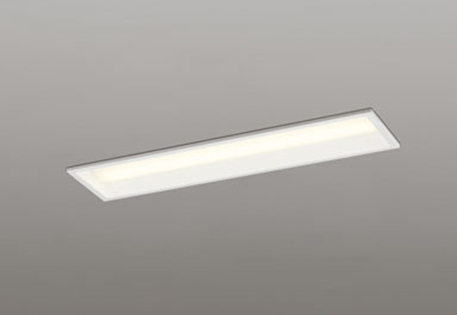 【最安値挑戦中!最大25倍】オーデリック XD504007P4E(LEDユニット別梱) ベースライト 下面開放型(幅150) 電球色 非調光 Hf16W高出力×2灯相当