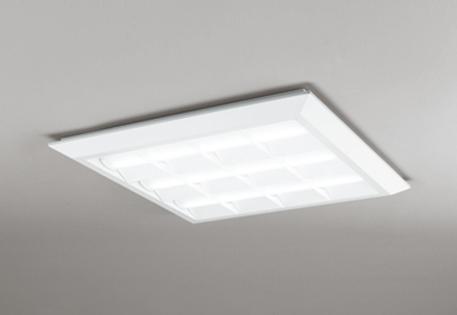 【最安値挑戦中!最大25倍】オーデリック XL501028P4D(LED光源ユニット別梱) ベースライト LEDユニット型 直付/埋込兼用型 PWM調光 温白色 調光器・信号線別売 ルーバー付