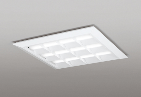 【最安値挑戦中!最大25倍】オーデリック XL501053P1D(LED光源ユニット別梱) ベースライト LEDユニット型 直付/埋込兼用型 PWM調光 温白色 調光器・信号線別売 ルーバー付