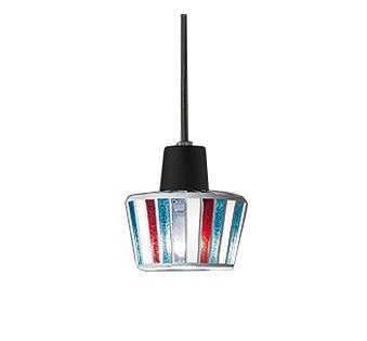 【最安値挑戦中!最大25倍】オーデリック OP034348ND ペンダント LED電球ミニクリプトン形5W 昼白色 非調光 引掛シーリング モザイクガラス・黒