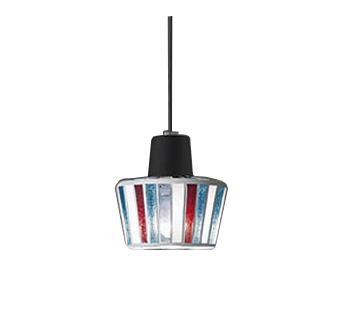【最安値挑戦中!最大25倍】オーデリック OP034446ND ペンダント LED電球ミニクリプトン形5W 昼白色 非調光 プラグタイプ モザイクガラス・黒