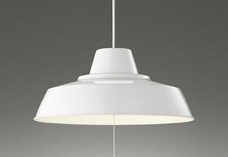 【最安値挑戦中!最大25倍】オーデリック OP252371 ペンダント LED一体型 電球色 ~8畳 段調光 引掛シーリング ホワイト