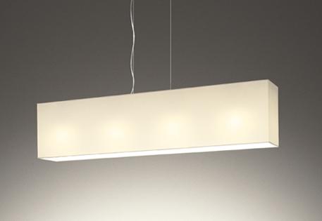 【最安値挑戦中!最大25倍】オーデリック OP252483LC(ランプ別梱包) ペンダントライト LED電球色 連続調光 調光器別売 布張りセード