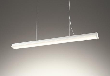 【最安値挑戦中!最大25倍】オーデリック OP252621 ペンダントライト LED一体型 非調光 電球色 オフホワイト 簡易取付 傾斜天井取付対応