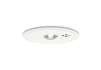 【最安値挑戦中!最大25倍】オーデリック OR036807P1 LED非常灯 LED一体型 中天井用(~8m) 昼白色 自己点検機能付 電池内蔵形 埋込穴φ100 ホワイト