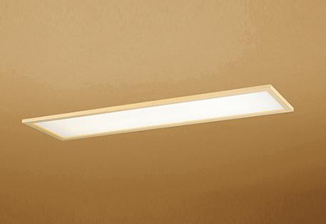 【最安値挑戦中!最大25倍】オーデリック OD266030P2B(LED光源ユニット別梱) 和風シーリングライト LED一体型 非調光 昼白色 埋込穴□1257×300 白木