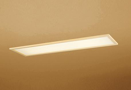 【最安値挑戦中!最大25倍】オーデリック OD266030P2E(LED光源ユニット別梱) 和風シーリングライト LED一体型 非調光 電球色 埋込穴□1257×300 白木