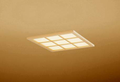 【最安値挑戦中!最大25倍】オーデリック OD301207P2E(LED光源ユニット別梱) 和風シーリングライト LED一体型 非調光 電球色 埋込穴□450 白木