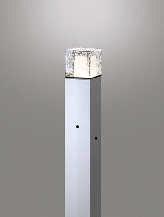 【最安値挑戦中!最大25倍】オーデリック OG254878ND(ランプ別梱) エクステリアガーデンライト LEDランプ 昼白色 地上高700 調光器不可 マットシルバー