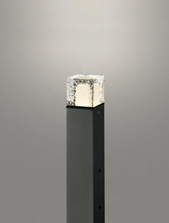 【最安値挑戦中!最大25倍】オーデリック OG254883LD(ランプ別梱) エクステリアガーデンライト LEDランプ 電球色 地上高400 防雨型 黒