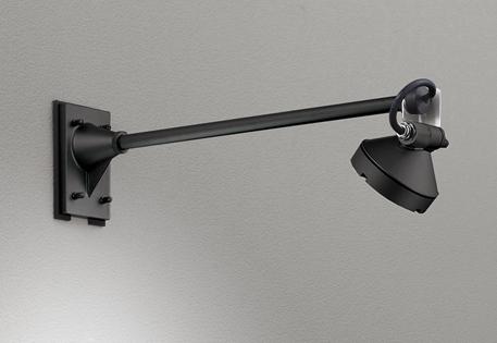 【最安値挑戦中!最大25倍】オーデリック OG254910 エクステリアスポットライト LED一体型 電球色 出700 ワイド配光 防雨型 黒