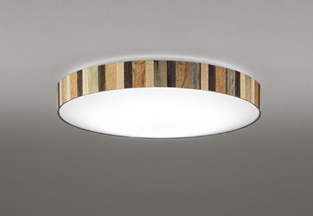 【最安値挑戦中!最大25倍】オーデリック OL291410 シーリングライト LED一体型 調光調色 リモコン付属 ~6畳 木調シート貼り