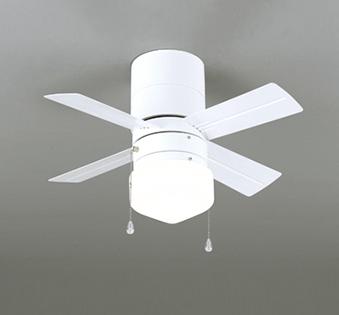 【最安値挑戦中!最大25倍】オーデリック WF255WD シーリングファン LEDランプ 非調光 温白色 簡易結線型 ホワイト