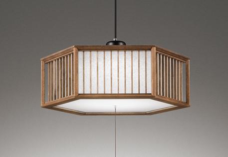 【最安値挑戦中!最大25倍】オーデリック OP252688N 和風ペンダントライト LED一体型 段調光 昼白色 ~8畳
