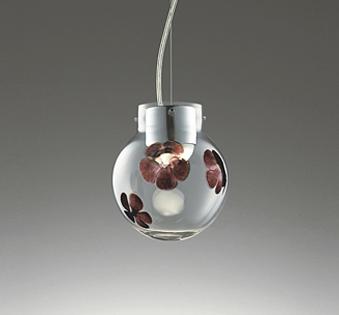 【最安値挑戦中!最大25倍】オーデリック OP252698BC ペンダントライト LED一体型 調光調色 Bluetooth リモコン別売 プラグ レール取付専用 ガラス透明・花模様入