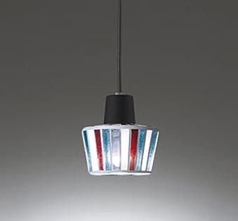 【最安値挑戦中!最大25倍】オーデリック OP034446WD ペンダントライト LEDランプ 非調光 温白色 プラグタイプ レール取付専用 モザイクガラス