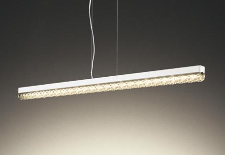 【最安値挑戦中!最大25倍】オーデリック OP252625P1 ペンダントライト LED一体型 連続調光 電球色 調光器別売 フレンジタイプ オフホワイト