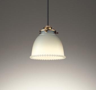 【最安値挑戦中!最大25倍】オーデリック OP252651LD(ランプ別梱) ペンダントライト LEDランプ 非調光 電球色 フレンジタイプ ミルクホワイト