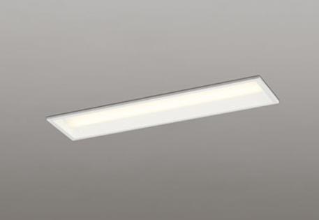 【最大44倍スーパーセール】オーデリック XD504007P1E(LED光源ユニット別梱) ベースライト LEDユニット型 非調光 電球色 下面開放型(幅150) FL20W相当