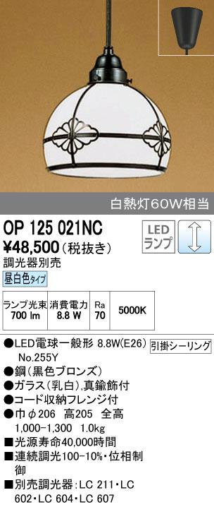 【最安値挑戦中!最大34倍】オーデリック OP125021NC 和風照明 LED電球一般形8.8W 昼白色 引掛シーリング 真鍮飾付 ガラス 調光器別売 [∀(^^)]