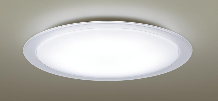 【最安値挑戦中!最大25倍】パナソニック LGC31121 シーリングライト 天井直付型 LED(昼光色~電球色) リモコン調光・調色 カチットF ~8畳 透明つや消し枠