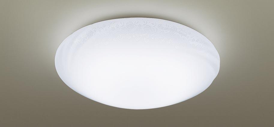 【最安値挑戦中!最大25倍】パナソニック LGC31134 シーリングライト 天井直付型 LED(昼光色~電球色) リモコン調光・調色 カチットF ~8畳 模様入り