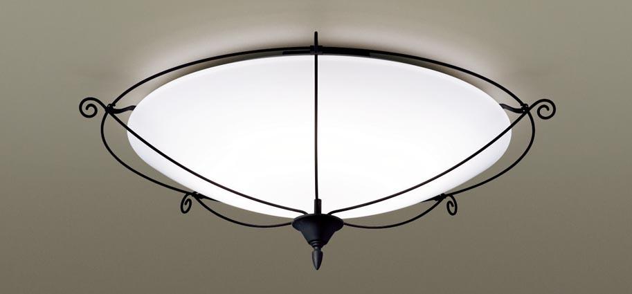 【最安値挑戦中!最大25倍】パナソニック LGC31140 シーリングライト 天井直付型 LED(昼光色~電球色) リモコン調光・調色 カチットF ~8畳 アイアン