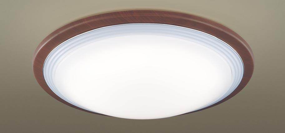 【最安値挑戦中!最大25倍】パナソニック LGC41139 シーリングライト 天井直付型 LED(昼光色~電球色) リモコン調光・調色 カチットF ~10畳 ウォールナット