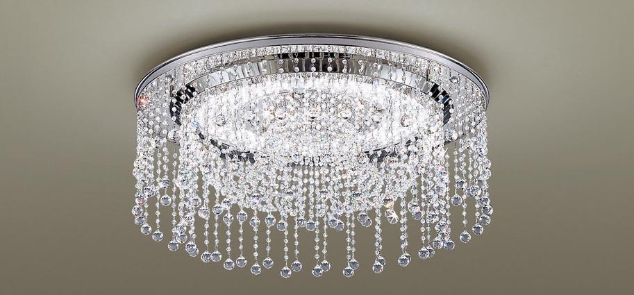 【最安値挑戦中!最大25倍】パナソニック LGC50114 シーリングライト 天井直付型 LED(昼光色~電球色) リモコン調光・調色 U-ライト方式 シャンデリング ~12畳