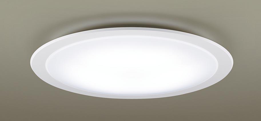 【最安値挑戦中!最大25倍】パナソニック LGC51122 シーリングライト 天井直付型 LED(昼光色~電球色) リモコン調光・調色 カチットF ~12畳 ホワイト