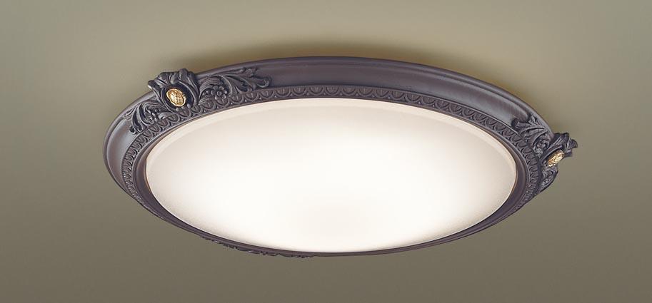 【最安値挑戦中!最大25倍】パナソニック LGC51130 シーリングライト 天井直付型 LED(昼光色~電球色) リモコン調光・調色 カチットF ~12畳 ダークブラウン